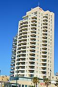 Modern luxury high-rise building, Tel Aviv, Israel