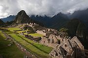 Machu Picchu sanctuary, Peru.