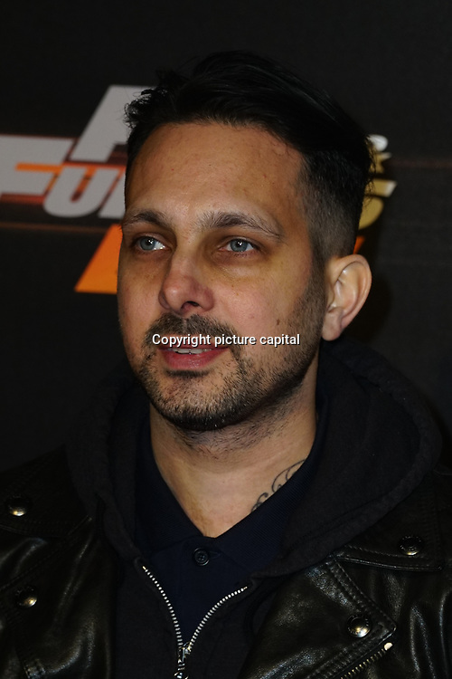Dynamo Arrives at Fast and Furious Live - VIP performance at O2 Arena on 19 January 2018, London, UK.