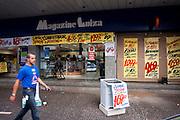 Uberlandia_MG, Brasil...Loja Magazine Luiza em Uberlandia...The store Magazine Luiza in Uberlandia...Foto: MARCUS DESIMONI / NITRO
