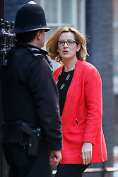 © Licensed to London News Pictures. 16/03/2016. London, UK. Climate Change Secretary AMBER RUDD attending to a cabinet meeting in Downing Street on the Budget Day, Wednesday, 16 March 2016. Photo credit: Tolga Akmen/LNP