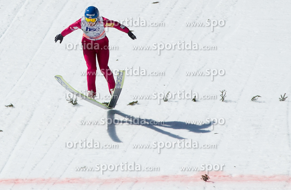 Krzysztof Mietus of Poland during Flying Hill Individual Qualifications at 1st day of FIS Ski Jumping World Cup Finals Planica 2012, on March 15, 2012, Planica, Slovenia. (Photo by Vid Ponikvar / Sportida.com)
