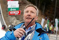18.03.2012, Planica, Kranjska Gora, SLO, FIS Ski Sprung Weltcup,  im Bild FIS Renndirektor Walter Hofer,   during the FIS Skijumping Worldcup, at Planica, Kranjska Gora, Slovenia on 2012/03/18. EXPA © 2012, PhotoCredit: EXPA/ Oskar Hoeher.