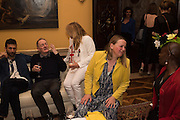Sarah Lucas- Scream Daddio party hosted by Sadie Coles HQ and Gladstone Gallery at Palazzo Zeno. Venice. 6 May 2015.