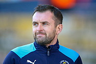 Luton Town Manager Nathan Jones during the EFL Sky Bet League 1 match between Luton Town and Plymouth Argyle at Kenilworth Road, Luton, England on 17 November 2018.