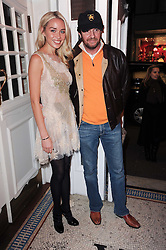 NOELLE RENO and SCOT YOUNG at a screening of the short film 'Away We Stay' directed by Edoardo Ponti held at The Electric Cinema, Portobello Road, London W1 on 15th November 2010.