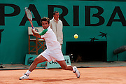 Roland Garros. Paris, France. May 29th 2006. .Fabrice Santoro plays against Jose Acasuso during the first tour of the tennis french open.