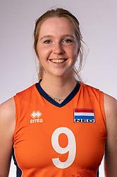 Britte Stuut of Netherlands, Photoshoot selection of Orange women's youth volleybal team season 2021on june 15, 2021 in Arnhem, Netherlands (Photo by RHF Agency/Ronald Hoogendoorn)