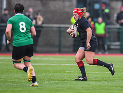 Wales women's Carys Philips in action during todays match<br /> <br /> Photographer Craig Thomas/Replay Images<br /> <br /> International Friendly - Wales women v Ireland women - Sunday 21th January 2018 - CCB Centre for Sporting Excellence - Ystrad Mynach<br /> <br /> World Copyright © Replay Images . All rights reserved. info@replayimages.co.uk - http://replayimages.co.uk