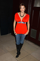 DANNI MINOGUE at a launch party for Kraken Opus's new luxury sports books held at Sketch, 9 Conduit Street, London W1 on 22nd February 2006.<br />