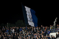 Supporters Bastia - 13.01.2015 - Bastia / Rennes - 1/4Finale Coupe de la Ligue -<br />Photo : Michel Maestracci / Icon Sport