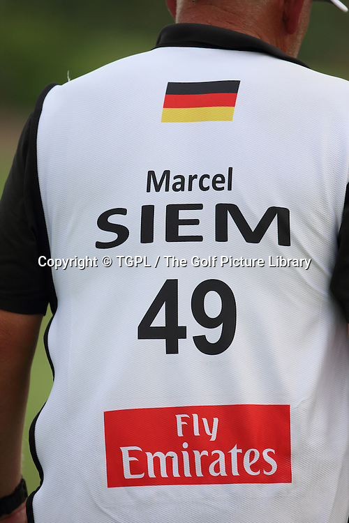 Marcel SIEM (GER) during second round DP World Tour Championship 2013,Jemeirah Golf Estates, Dubai,UAE.