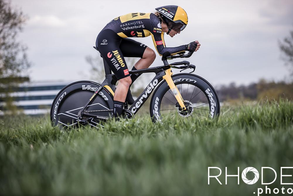 Karlijn Swinkels (NED/Jumbo-Visma)<br /> <br /> Ceratizit Festival Elsy Jacobs (LUX) 2021<br /> UCI Women Elite 2.1<br /> Day 1 - prologue : Individual Time Trial (ITT) – Cessange (LUX) 2.2km <br /> <br /> ©RhodePhoto