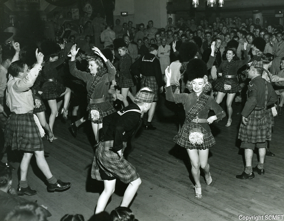 1943 Dancers At The Hollywood Canteen