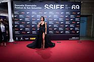 092521 69th San Sebastian International Film Festival: Red Carpet Closing Ceremony