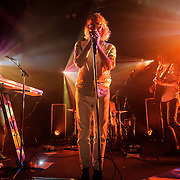 EL VY, featuring Matt Berninger of The National and Brent Knopf from Menomena, perform at the 9:30 Club in Washington, D.C.