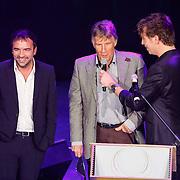 NLD/Hilversum/20121115 - Uitreiking Radioring 2012, uitreiking zilveren radioster aan Gerard Ekdom