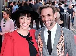 Edinburgh International Film Festival 2019<br /> <br /> Mrs Lowry And Son (World Premiere, closing night gala)<br /> <br /> Pictured: Pollyanna MacIntosh and Casey Van Maanen<br /> <br /> Alex Todd   Edinburgh Elite media