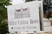 Chateau Cantenac Brown, Margaux, Medoc, Bordeaux, France