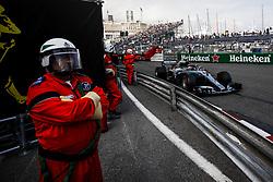 May 24, 2018 - Montecarlo, Monaco - 44 Lewis Hamilton from Great Britain Mercedes W09 Hybrid EQ Power+ team Mercedes GP during the Monaco Formula One Grand Prix  at Monaco on 24th of May, 2018 in Montecarlo, Monaco. (Credit Image: © Xavier Bonilla/NurPhoto via ZUMA Press)