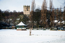 Ecclesfield Church viewed from Ecclesfield Park Tuesday 5 February 2013.Image © Paul David Drabble