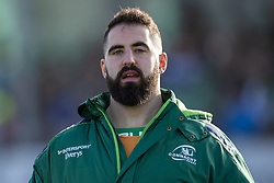 March 2, 2019 - Galway, Ireland - Peter McCabe of Connacht during the Guinness PRO 14 match  between Connacht Rugby and Ospreys at the Sportsground in Galway, Ireland on March 2, 2019  (Credit Image: © Andrew Surma/NurPhoto via ZUMA Press)