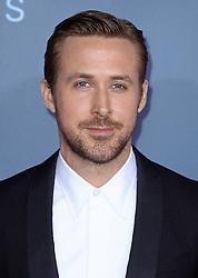 Ryan Gosling, The 22nd Annual Critics Choice Awards at Barker Hangar (Santa Monica, CA.)