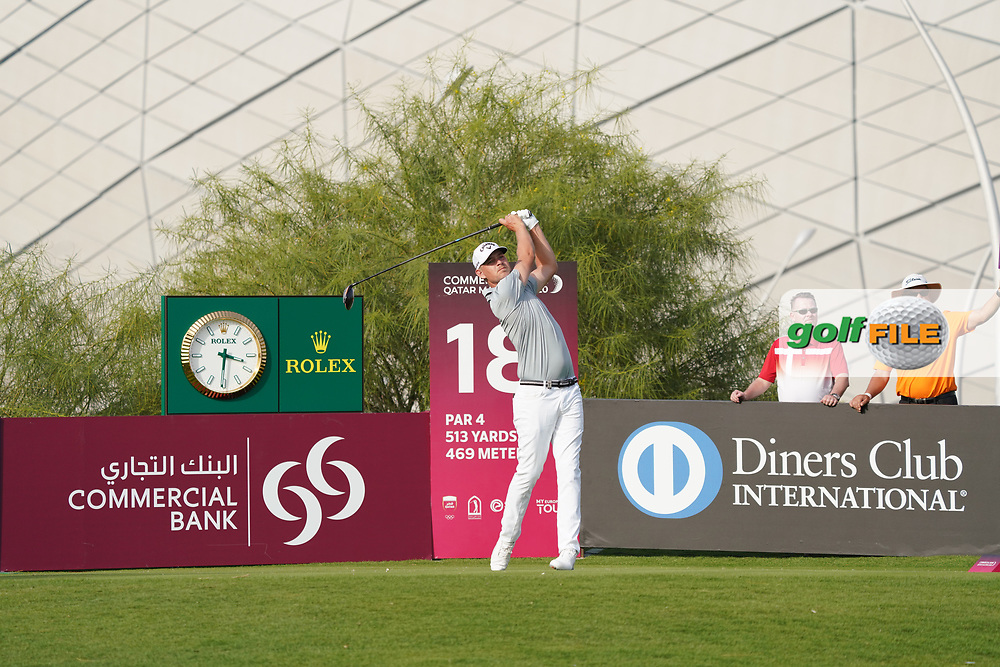 Jeff Winther (DEN) during the third round of the Commercial Bank Qatar Masters 2020, Education City Golf Club , Doha, Qatar. 07/03/2020<br /> Picture: Golffile | Phil Inglis<br /> <br /> <br /> All photo usage must carry mandatory copyright credit (© Golffile | Phil Inglis)