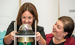 Pictured: Scottish Labour leader Kezia Dugdale and  Shadow Economy Secretary Jackie Baillie <br /> Scottish Labour leader Kezia Dugdale, Shadow Economy Secretary Jackie Baillie and Shadow Economy minister Richard Leonard visited Leonardo Airborne and Space Systems today to launch Scottish Labour's industrial strategy. <br />  <br /> Ger Harley | EEm 6 July  2017