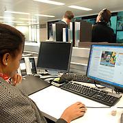 NLD/Den Haag/20061130 - Persrondleiding Nationaal Crisiscentrum Den Haag, operationele ruimte
