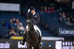 Werndl Benjamin, GER, Daily Mirror 9<br /> Stuttgart - German Masters 2018<br /> © Hippo Foto - Stefan Lafrentz