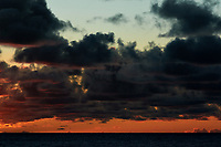 Pacific Ocean Sunrise Panorama viewed from the aft deck of the MV World Odyssey. Image 19 of 20 taken with a Nikon 1 V3 camera and 70-300 mm VR lens (ISO 200, 82 mm, f/8, 1/250 sec). Raw images processed with Capture One Pro and the panorama created using AutoPano Giga Pro.