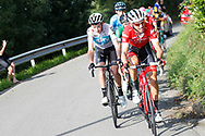 Bauke Mollema (NED ,Trek - Segafredo) during the 73th Edition of the 2018 Tour of Spain, Vuelta Espana 2018, Stage 15 cycling race, 15th stage Ribera de Arriba - Lagos de Covadonga 178,2 km on September 9, 2018 in Spain - Photo Luis Angel Gomez/ BettiniPhoto / ProSportsImages / DPPI