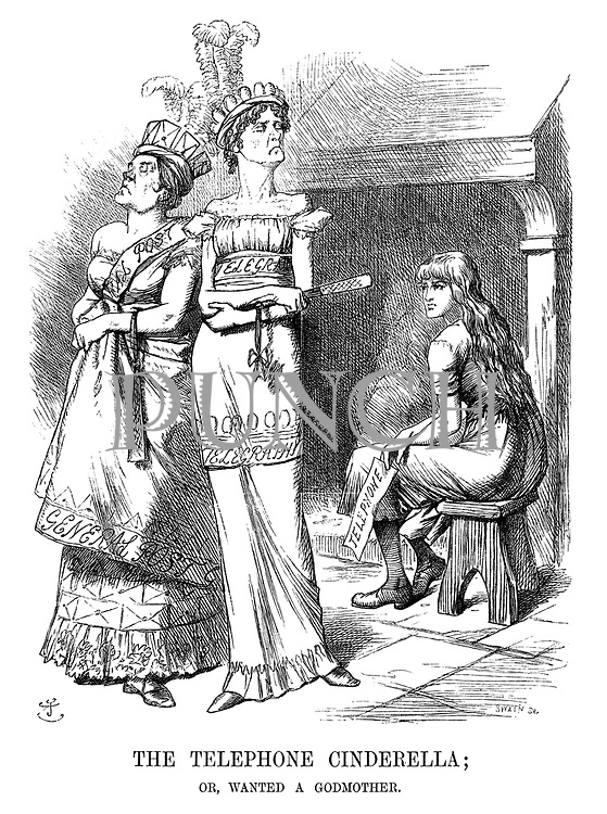The Telephone Cinderella; or, Wanted a Godmother.