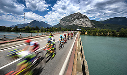 July 20, 2018 - Valence, FRANCE - Illustration picture taken during the 13th stage in the 105th edition of the Tour de France cycling race, from Bourg d'Oisans to Valence (169,5 km), France, Friday 20 July 2018. This year's Tour de France takes place from July 7th to July 29th. BELGA PHOTO DAVID STOCKMAN (Credit Image: © David Stockman/Belga via ZUMA Press)