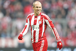 22-01-2011 VOETBAL: BAYERN MUNCHEN - FC KAISERLAUTERN: MUNCHEN<br /> Arjen Robben<br /> **NETHERLANDS ONLY**<br /> ©2011-WWW.FOTOHOOGENDOORN.NL / NPH-Straubmeier