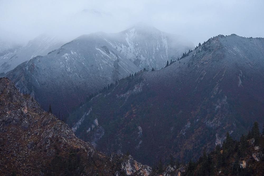 Kandashan mountains, Tibetan Plateau, Qinghai, China