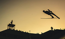 29.09.2018, Energie AG Skisprung Arena, Hinzenbach, AUT, FIS Ski Sprung, Sommer Grand Prix, Hinzenbach, im Bild Junshiro Kobayashi (JPN) // Junshiro Kobayashi of Japan during FIS Ski Jumping Summer Grand Prix at the Energie AG Skisprung Arena, Hinzenbach, Austria on 2018/09/29. EXPA Pictures © 2018, PhotoCredit: EXPA/ JFK