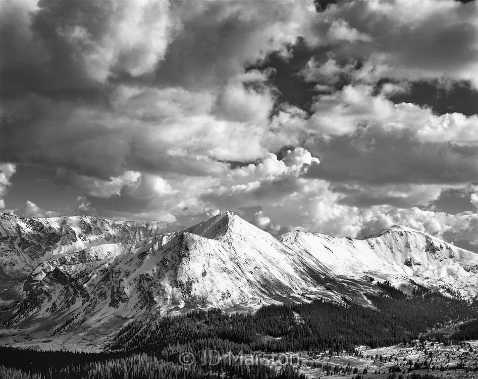 The View from Cottonwood Pass, including Jones Peak