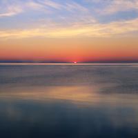"""Dawn's First Light""2<br /> <br /> Sunrise over Lake Huron in Michigan!"