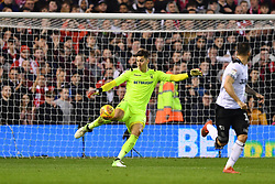 February 25, 2019 - Nottingham, England, United Kingdom - Costel Pantilimon (1) of Nottingham Forest  during the Sky Bet Championship match between Nottingham Forest and Derby County at the City Ground, Nottingham on Monday 25th February 2019. (Credit Image: © Mi News/NurPhoto via ZUMA Press)
