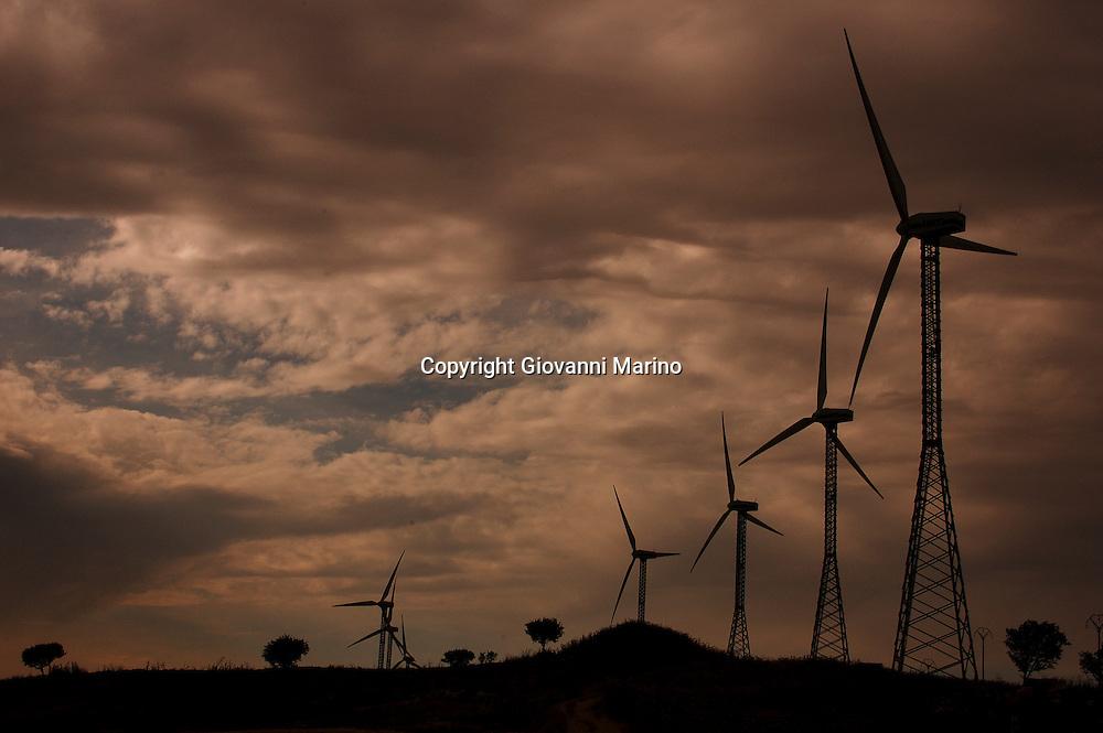 Basilicata, Italy - The wind energy