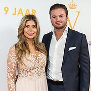 NLD/Katwijk/20191030 - 9 jaar Soldaat van Oranje, Stephanie Tency en partner