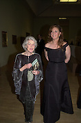 Unity Spencer, daughter of Stanley Spencer and Baroness Francesca Thyssen-Bornemisza, Archduchess of Austria. Stanley Spencer exhibition opening and dinner. Tate Brittain. London. 19 January 2001.  © Copyright Photograph by Dafydd Jones 66 Stockwell Park Rd. London SW9 0DA Tel 020 7733 0108 www.dafjones.com