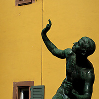Statue - Friberg, Germany.