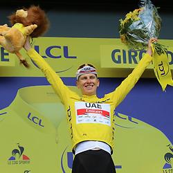 LIBOURNE (FRA) CYCLING: July 16<br /> 19th stage Tour de France Mourenx-Libourne<br /> Tadej Pogacar
