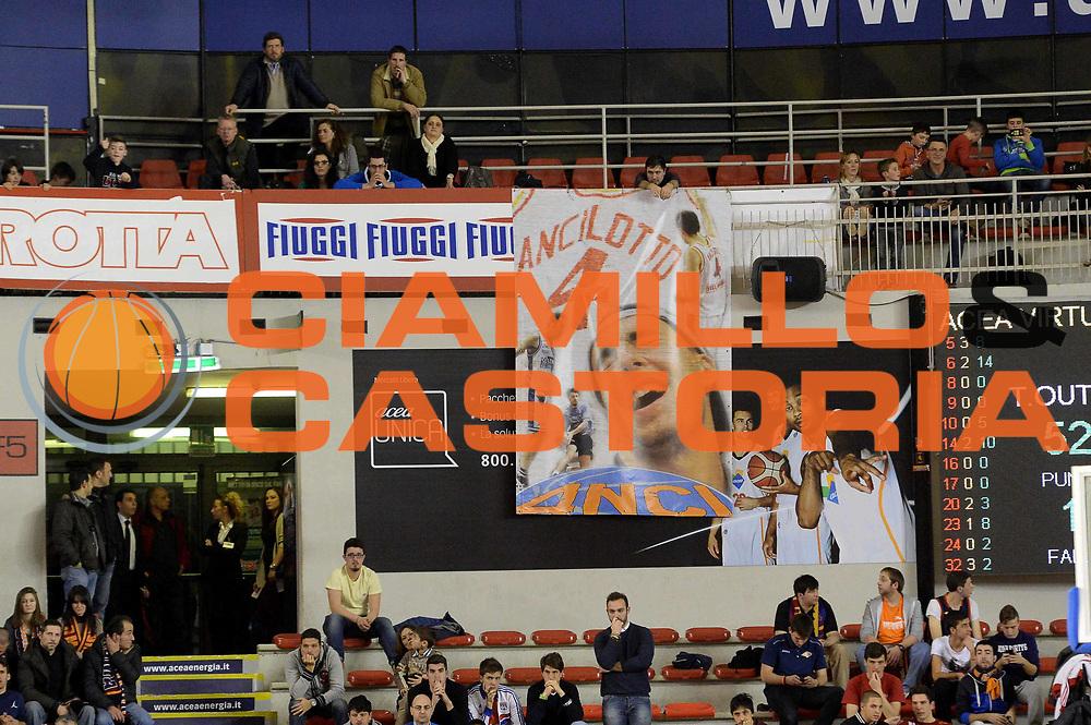 DESCRIZIONE : Roma Lega serie A 2013/14 Acea Virtus Roma Pasta Reggia Caserta<br /> GIOCATORE : Tifosi<br /> CATEGORIA : Tifosi<br /> SQUADRA : Acea Roma<br /> EVENTO : Campionato Lega Serie A 2013-2014<br /> GARA : Acea Virtus Roma Pasta Reggia Caserta<br /> DATA : 23/02/2014<br /> SPORT : Pallacanestro<br /> AUTORE : Agenzia Ciamillo-Castoria/GiulioCiamillo<br /> Galleria : Lega Seria A 2013-2014<br /> Fotonotizia : Roma Lega serie A 2013/14 Acea Virtus Roma Pasta Reggia Caserta<br /> Predefinita :
