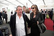 HAMISH MCALPINE; SIR NICHOLAS SEROTA; CAROLE SILLER, opening of the 2010 Frieze art fair. Regent's Park. London. 13 October 2010. -DO NOT ARCHIVE-© Copyright Photograph by Dafydd Jones. 248 Clapham Rd. London SW9 0PZ. Tel 0207 820 0771. www.dafjones.com.