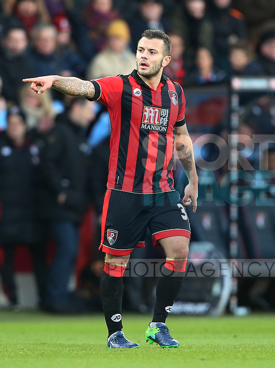 Bournemouth's Jack Wilshere in action during the Premier League match at the Vitality Stadium, London. Picture date December 4th, 2016 Pic David Klein/Sportimage