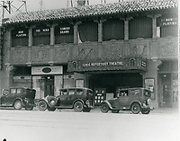 1928 Music Box Theater on Hollywood Blvd.